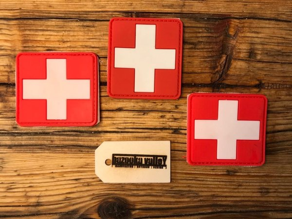 PVC Rubber Patch - First Aid / Erste Hilfe
