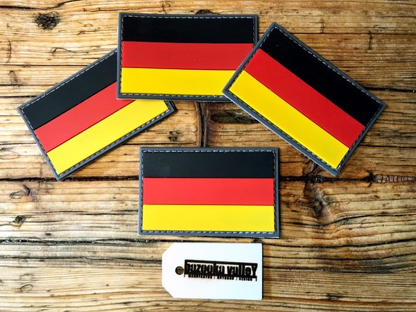 PVC Rubber Patch - Germany / Deutschland Flagge / Fahne