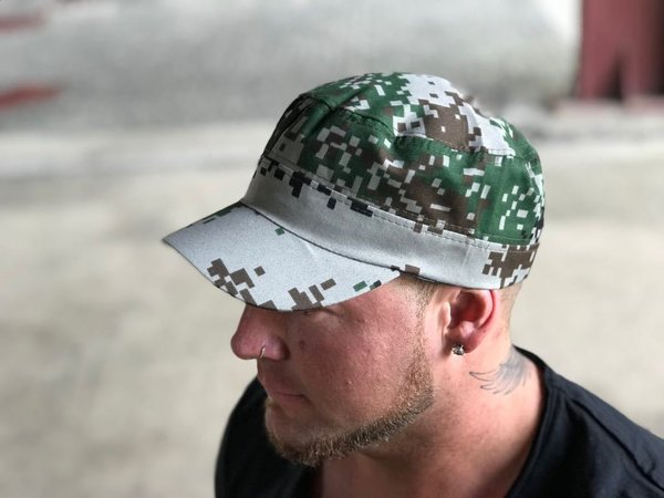 Military Cap - Army Model - Unisex, One-Size-Fits-All