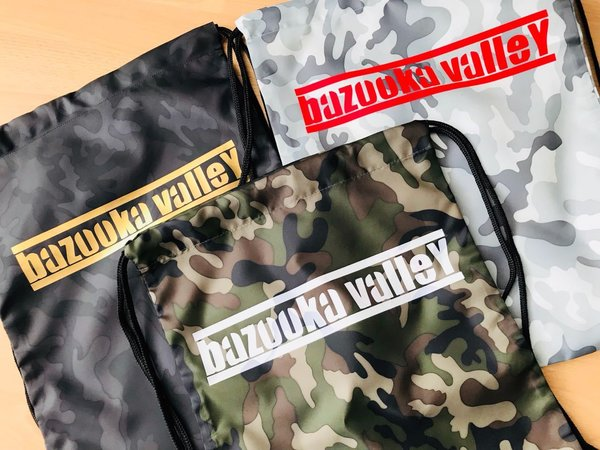 Sports Bag / Gym-Sack / Turnbeutel / Hipster Bag - Camouflage - Bazooka Valley