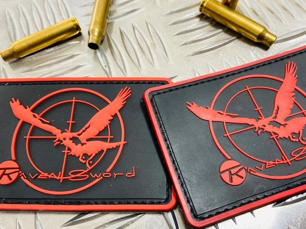 PVC Rubber Patch - Raven Sword Tactical